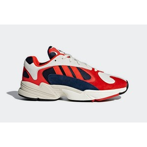Sneakers Adidas Yung 1 rosso arancione bianco uomo tempo libero art. B37615