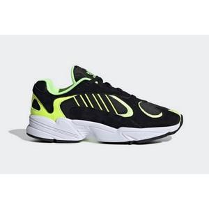 Sneakers Adidas Yung 1 nero giallo uomo tempo libero art. EE5317