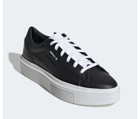 Ee4519 adidas sleek super w nero bianco donna 4