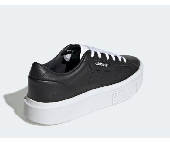 Ee4519 adidas sleek super w nero bianco donna 5