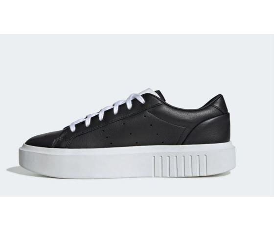 Ee4519 adidas sleek super w nero bianco donna 6