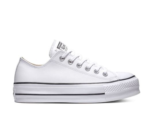 561680c converse all star lift clean low top bianco