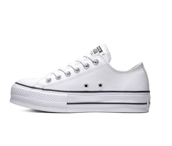 561680c converse all star lift clean low top bianco 2