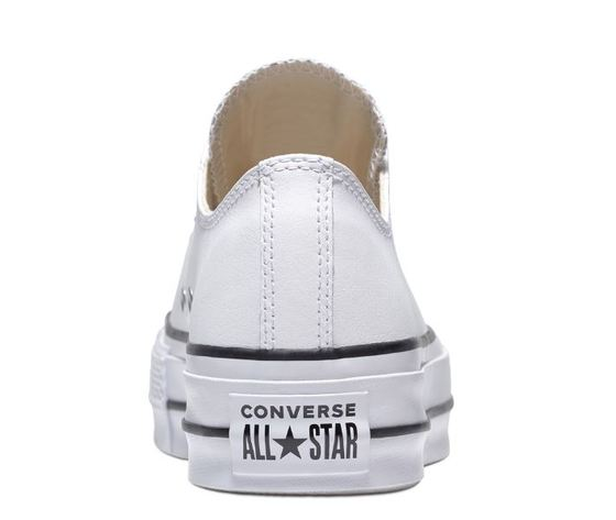 561680c converse all star lift clean low top bianco 4