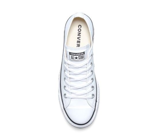 561680c converse all star lift clean low top bianco 5