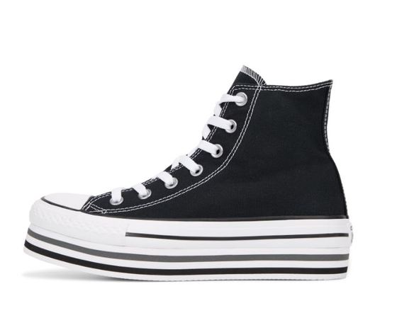 564486c converse chuck taylor all star lift higt top nero 2