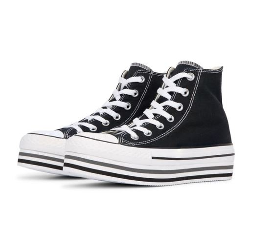 564486c converse chuck taylor all star lift higt top nero 3