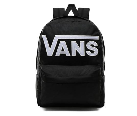 Vn0a3i6ry281 zaino vans nero logo bianco