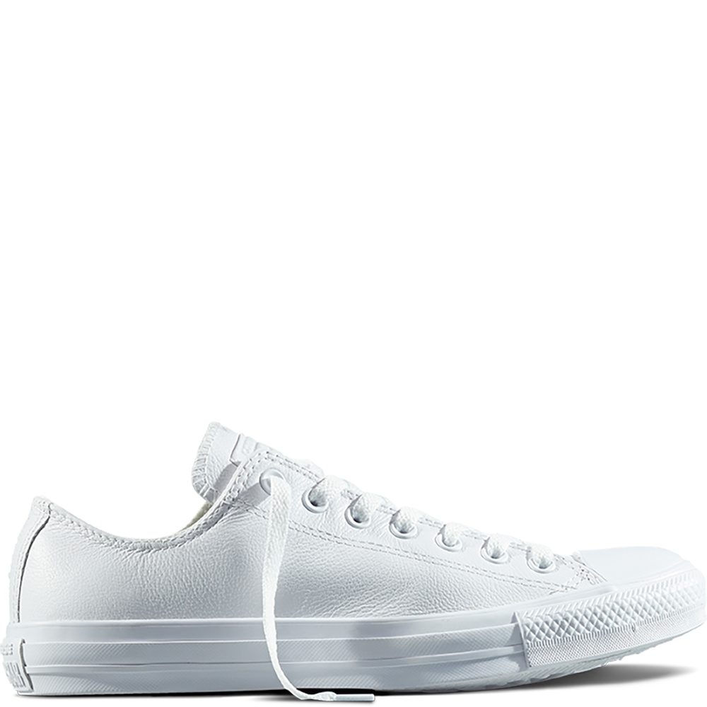 all star converse basse in pelle