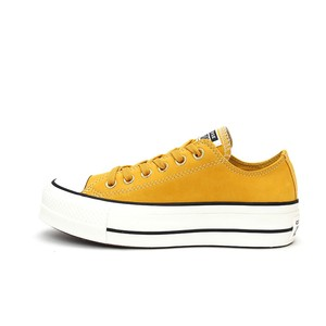 Converse Chuck Taylor All Star Lift Ox platform oro senape donna art. 565856C