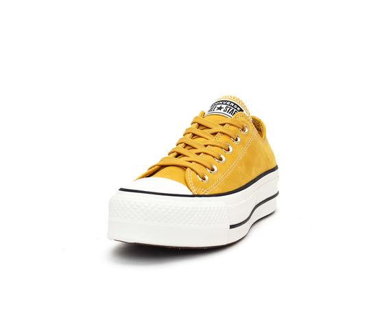 Converse Chuck Taylor All Star Lift Ox giallo oro sneakers ...