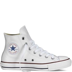 Converse Chuck Taylor All Star bianco alta pelle unisex art. 132169C