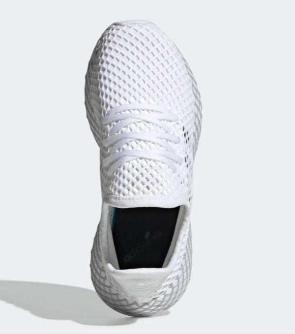 Adidas Deerupt Runner J bianco nero ragazzi tempo libero donna art. F34295