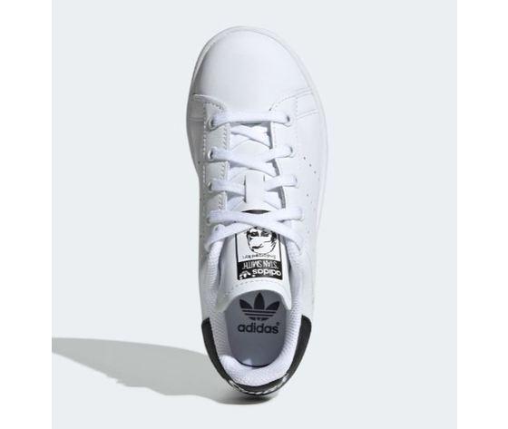 Ee7578 adidas stan smith bambini bianco nero 2