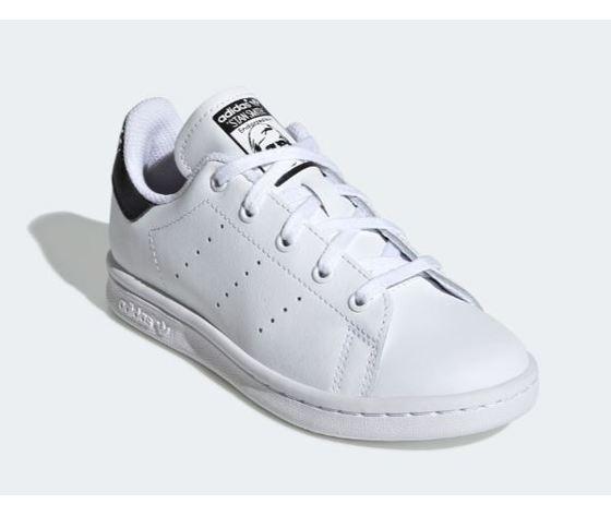 Ee7578 adidas stan smith bambini bianco nero 4
