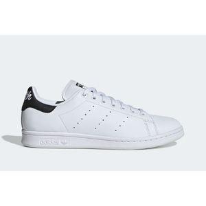 Scarpe Adidas Stan Smith bianco tallone nero uomo tempo libero art. EE5818