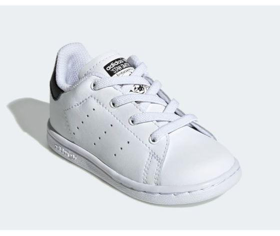 Ee7595 adidas stan smith neonato bianco nero 4