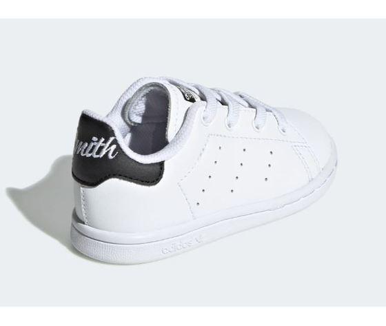 Ee7595 adidas stan smith neonato bianco nero 5