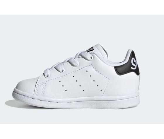 Ee7595 adidas stan smith neonato bianco nero 6