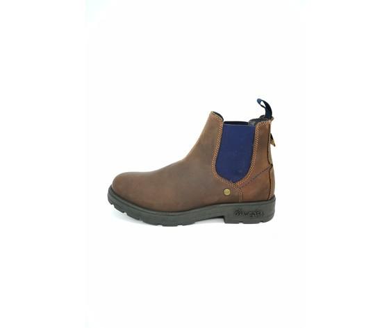 Wm92040a 438 wrangler stivaletto slip on buddy marrone blu
