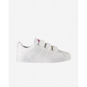 Scarpe Adidas bambino bianco rosso Advantage Jr strappi art. BB9978