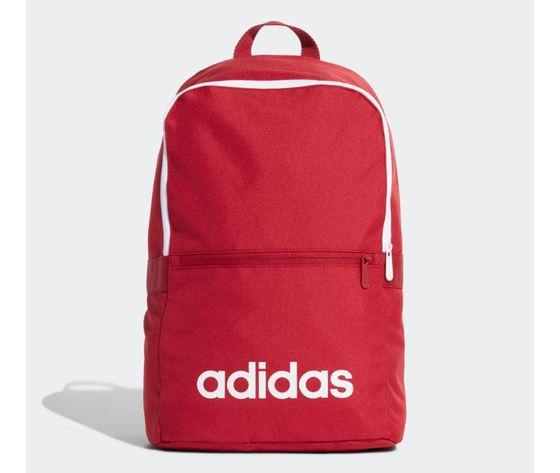 Ed0290 zaino adidas linear classic daily rosso