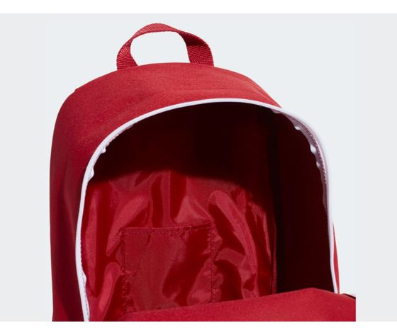 Ed0290 zaino adidas linear classic daily rosso 4