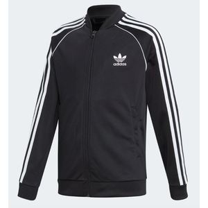 Giacca Adidas nero ragazzi Track Jacket SST art. DV2896