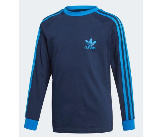 Ej9380 adidas maglia blu 3 stripes ragazzo