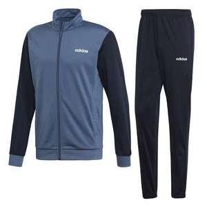 Tuta Adidas grigio blu Linear abbigliamento uomo art. EI5559