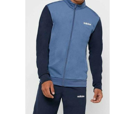 Ei5559 adidas tuta grigio blu 2