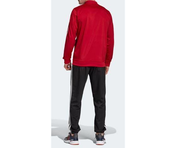 Fh6637 adidas tuta rosso nera 4