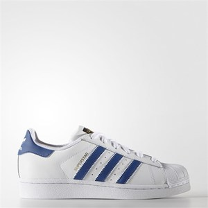 Adidas Superstar Bianco/Blu Art. S74944