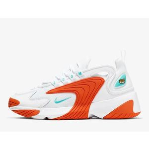 Scarpa Nike Zoom 2K bianco arancione donna tempo libero art. AO0354 105