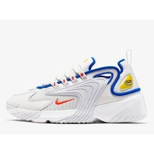 Scarpa Nike Zoom 2K bianco blu uomo tempo libero art. AO0269 005