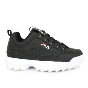 Sneakers Fila Disruptor Low nero bianco donna art. 1010302.25Y