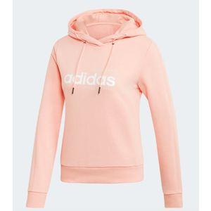 Felpa Adidas rosa cappuccio Hoodie Brilliant Basics donna art. EI4636