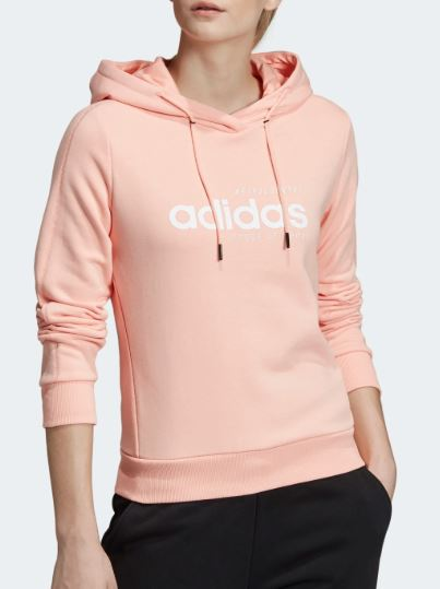 adidas rosa felpa