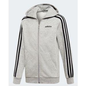 Felpa Adidas cappuccio ragazzo Hoodie Essentials grigio art. DV1802