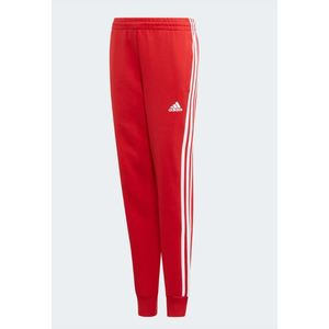 Pantaloni Adidas rosso ragazzo YB 3 Stripes art. ED6478