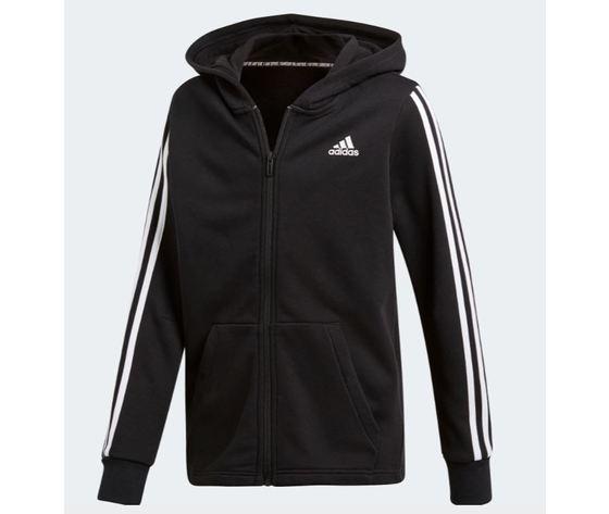 Dv0819 adidas giacca must have nero ragazzo