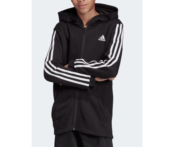 Dv0819 adidas giacca must have nero ragazzo 3