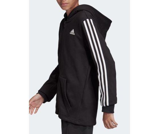 Dv0819 adidas giacca must have nero ragazzo 4
