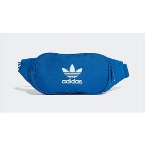 Marsupio Adidas blu Essential Crossbody logo bianco art. ED8682