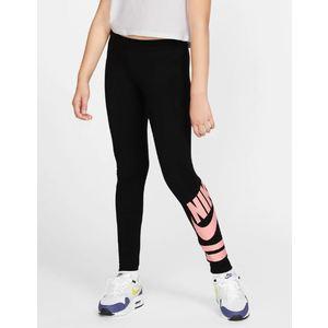 Leggins Nike con grafica nero rosa Sportswear ragazza art. 939447 013