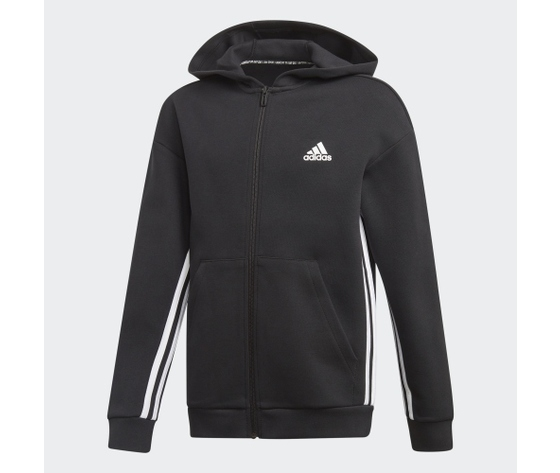 Ed6474 adidas giacca nera must have 3 stripes