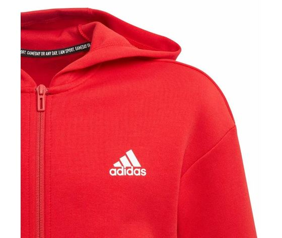 Ed6485 giacca adidas rossa must have 3 stripes 3