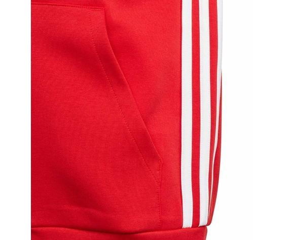 Ed6485 giacca adidas rossa must have 3 stripes 4