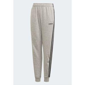 Pantaloni Adidas in felpa grigi 3 strisce nere Essentials bambino ragazzo art. DV1801
