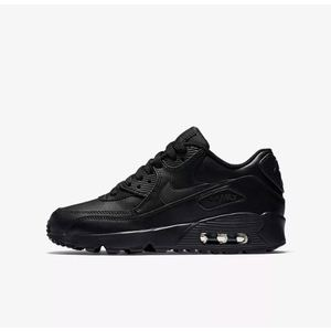 Nike Air Max Total Black Pelle GS Art. 833412 001
